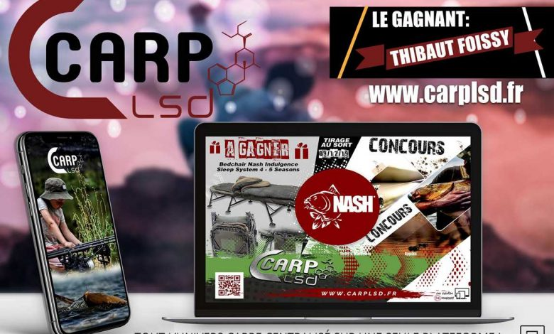 CARP LSD | POUR GAGNER DES CADEAUX 100% PECHE