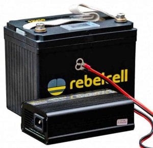 BATTERIE REBELCELL 12V50 lI-ION
