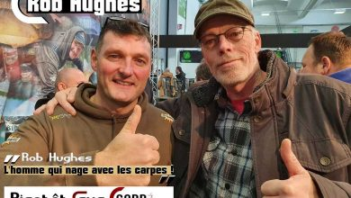 Photo de ROB HUGHES arrive sur CARP LSD