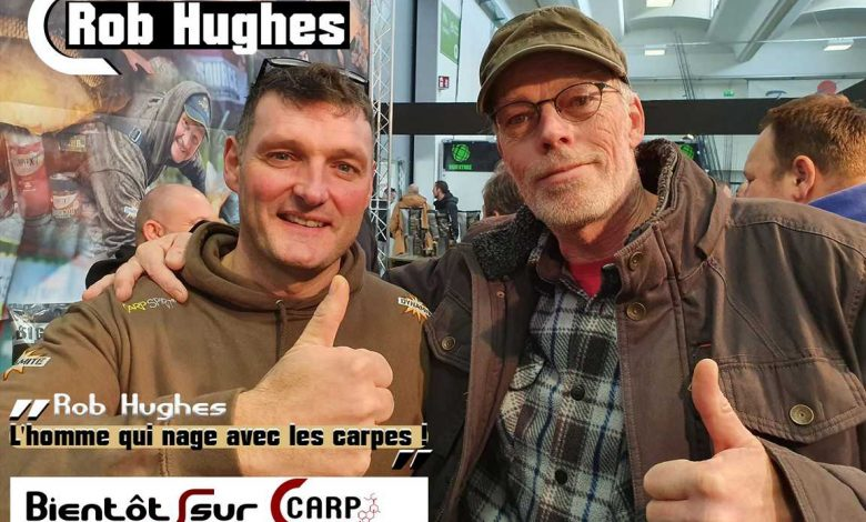 Rob Hughes arrive sur CARP LSD