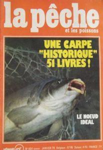 La carpe record qui a marqué l'histoire de la pêche en France