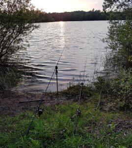 Pêche aux prémices du printemps