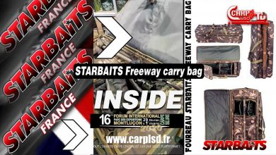 Photo de INSIDE | Fourreau STARBAITS Freeway carry bag