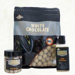 Bouillette White Chocolate & Coconut Cream Dynamite Baits