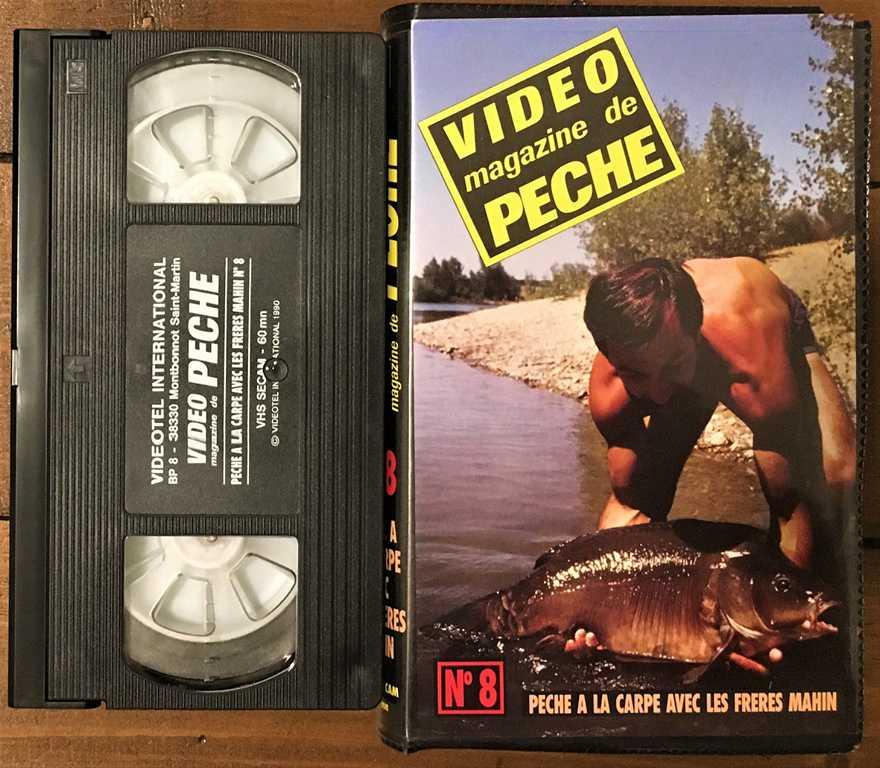 Les premières vidéos de pêche à la carpe