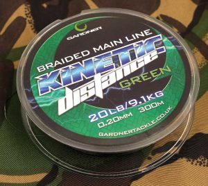 GARDNER KINETIC SHOCK LEADER & DISTANCE BRAID