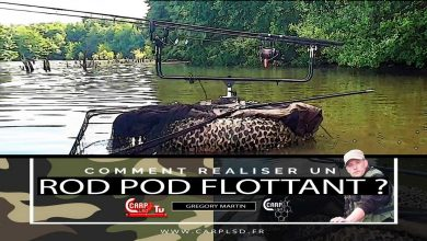 Photo de CARP LSD TV | Comment Réaliser un rod pod flottant ?